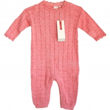 "NAME IT Baby Mädchen Overall ""Finnea NB SO LS"" Knit Suit 115 in Rosa (Peony)"