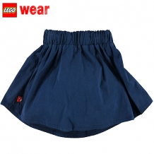 "LEGO WEAR Mädchen Sommer Rock ""Dolly"" 303 Skirt in A-Linie-Form in Dunkelblau"